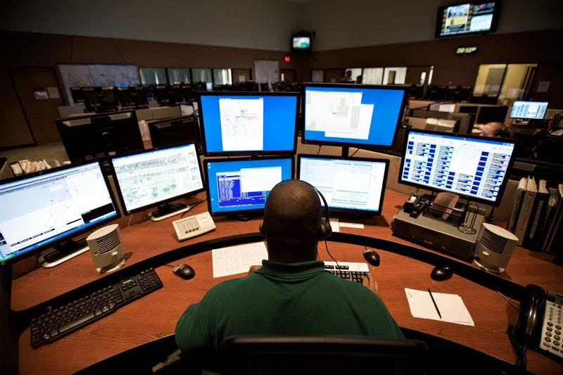 Consolidating dispatch centers