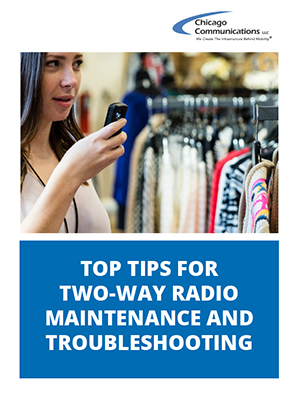 Top Tips for Two Way Radio Maintenance and Troubleshooting-cover