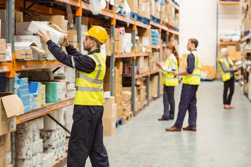 Warehouse video surveillance system